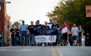 Community walk highlighting National Recovery Month